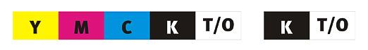 YMCKT-KT / YMCKO-KO
